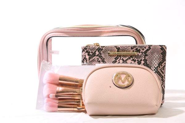 10 Piece Cosmetic Case