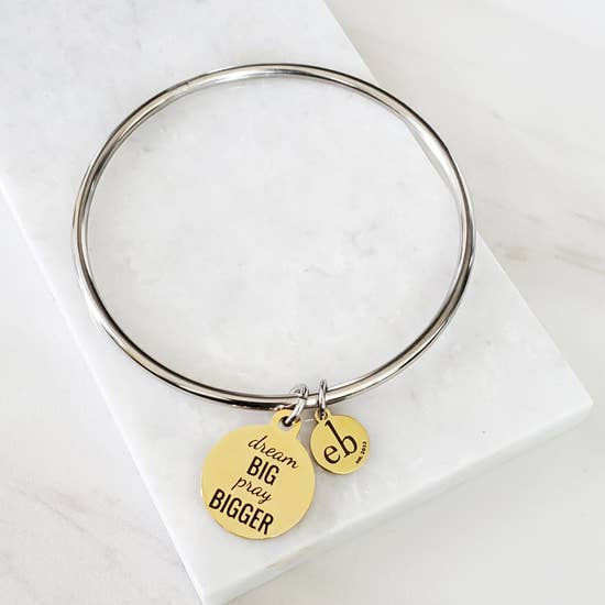 Expressions Bracelet  - Dream Big Pray Bigger