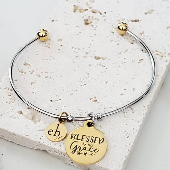 Expressions Bracelet - Blessed by His Grace