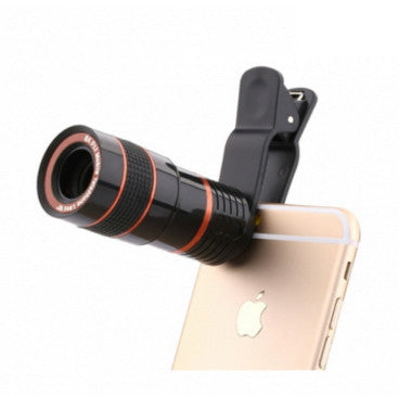 8X Zoom Lens for iPhone and Samsung Lenses