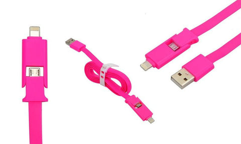 2 in 1 USB Charging Cable