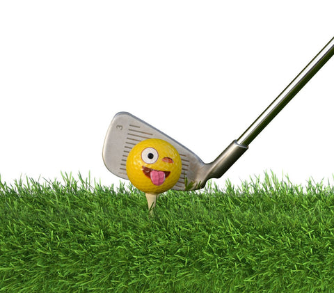 12 pcs Emoji Golf Balls