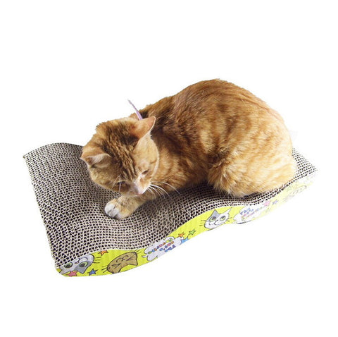 Cats Scratcher with Catnip Lounge