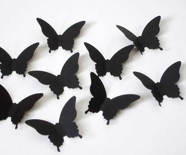 20 pcs 3D Butterfly Wall Stickers