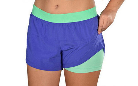 2 in 1 Active Sports Shorts