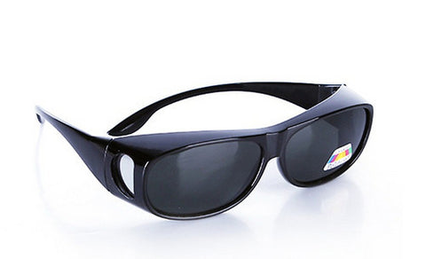 Black Polarized Fit Over Sunglasses