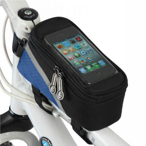 Buy Bicycle Smartphone Bag and Get Cycling Sports Sunglasses Absolutely Free