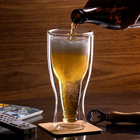 12 oz Inverted Beer Bottle Mug