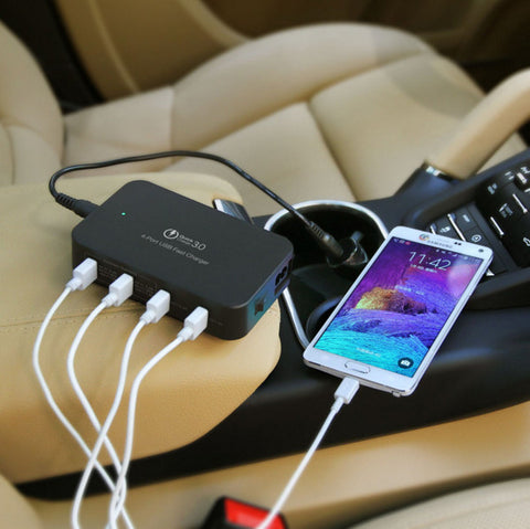4 in 1 USB Fast Charger