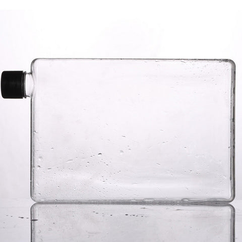 Flat Water Bottle