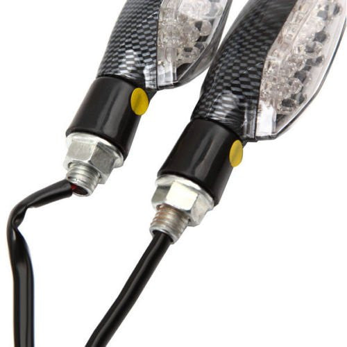 16 LED Bike Turn Signal Light Lamps