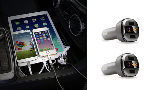 3.4A Fast Charger Car Charger With Dual USB