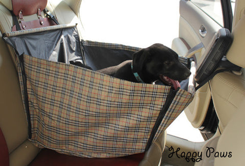 3D Pet car back cloth cradle carrier
