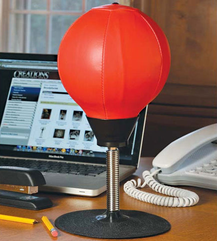 Desktop Punching Bag with Suction Base