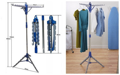 Collapsible Portable Clothesline