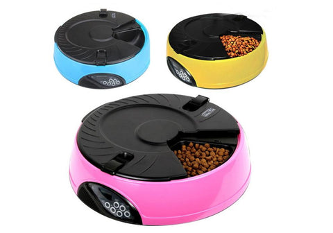 Automatic 6 Day Meal Pet Feeder