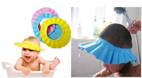 Baby Shower and Shampoo Eye Protection Cap