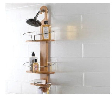 Bamboo Shower Storage Caddy