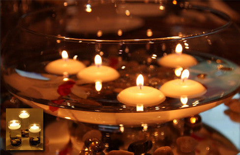 10 Romantic Floating Candles