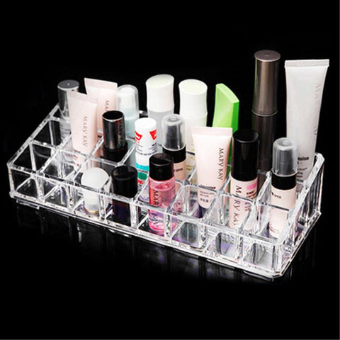 24 Grids Lipstick Display & Cosmetic Storage Holder