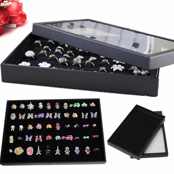 100 Pcs  Jewelery Display Storage Box