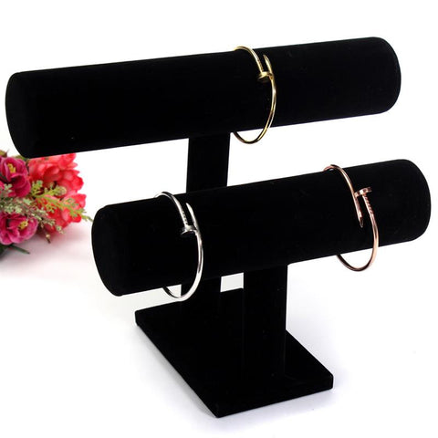 1 Or 2 Tier T-Bar Jewelry Rack