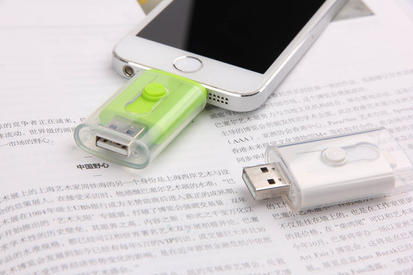 Dual USB Drive for iPhone