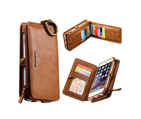 2 in1 PU wallet Case