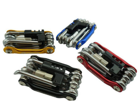 11 In 1 Bicycle Repair Pocket Folding Tool Kit