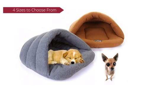 Cat or Dog Pet Bed Igloo