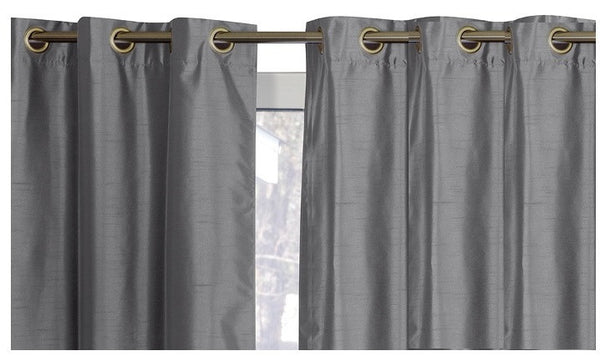 "38""x84"" Foam-Backed Blackout Curtains"