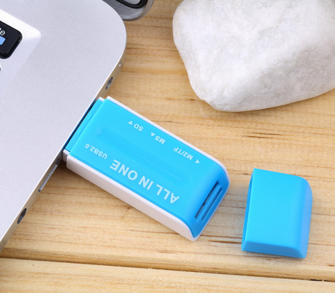 2.0 Multi Memory Card Reader Adapter