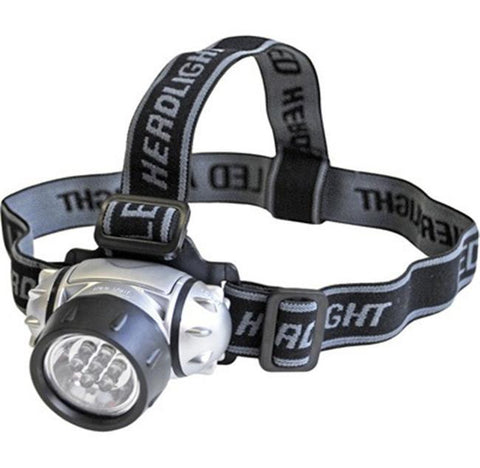 2 Pack of 7-LED Headlamps