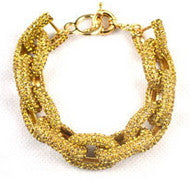 Pave Inspired Yellow Crystal Bracelet