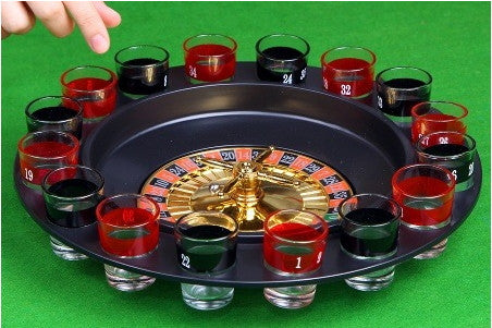 Roulette Drinking  Game Set
