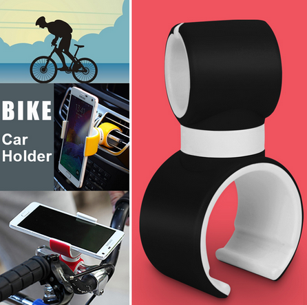 Universal car and bike phone holder