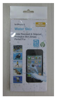 2pcs Waterproof skin for mobile phone