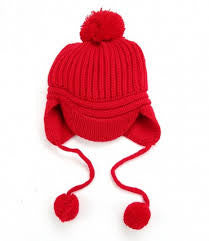 Children's Knitted Hats Boys Caps Baby Girls Hat Beanie Peaked Cap