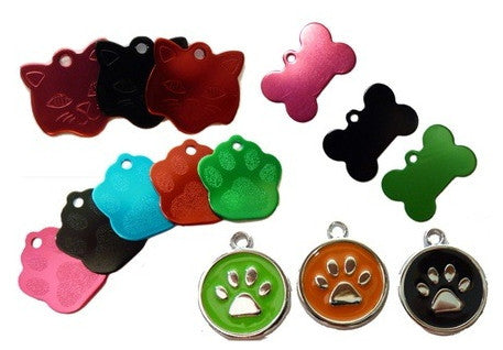 Personalised engraved Pet ID Tags-Two