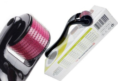 Microneedle Roller System for Healthy Looking Skin