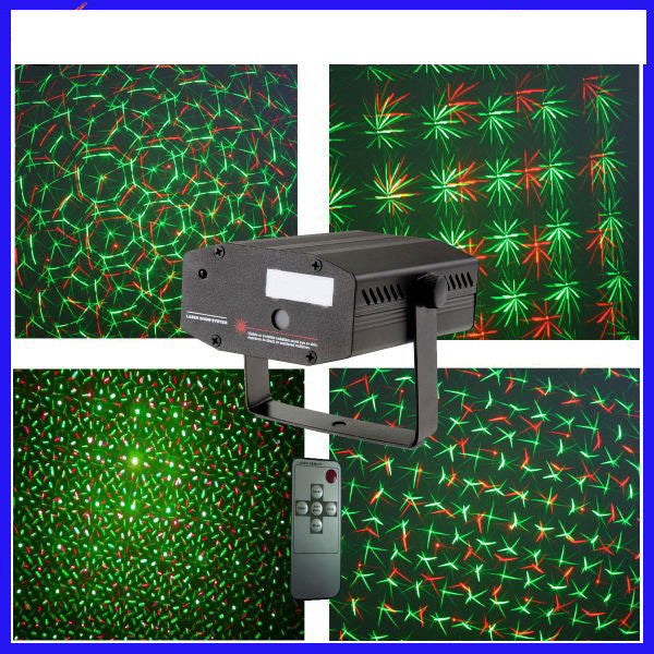 Red and Green Firefly Laser Light