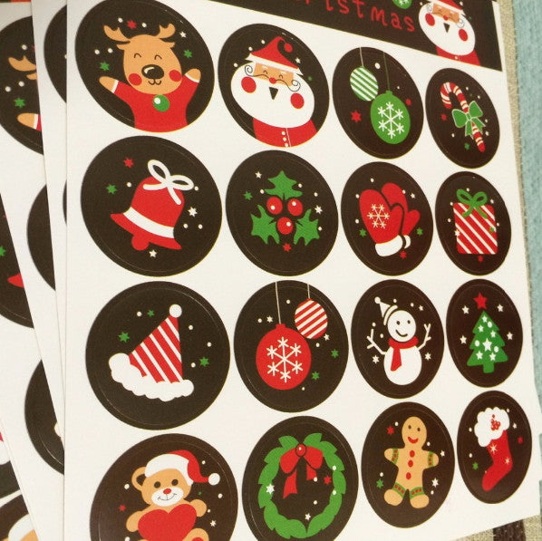 160 pieces Christmas Stickers