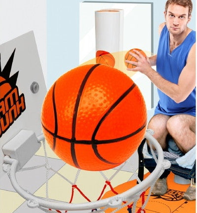 Slam Dunk Toilet Basketball Game Gadget - Perfect Gift for Basketball Lovers