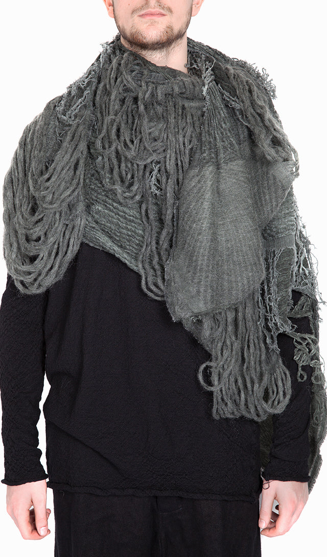 Forme d'expression Fiamma Scarf in Green Tea