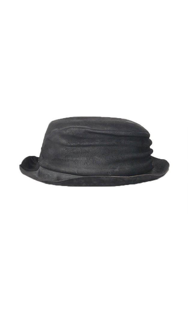 Layer-0 H2 Hat in Black Cordovan