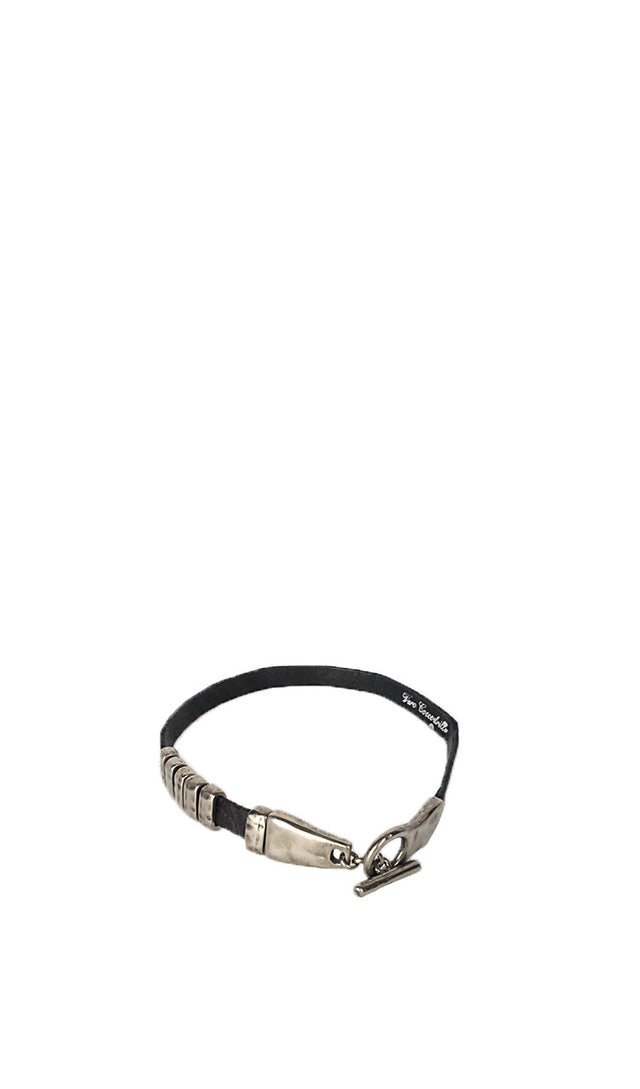 Scunzani Double bracelet in Crocodile
