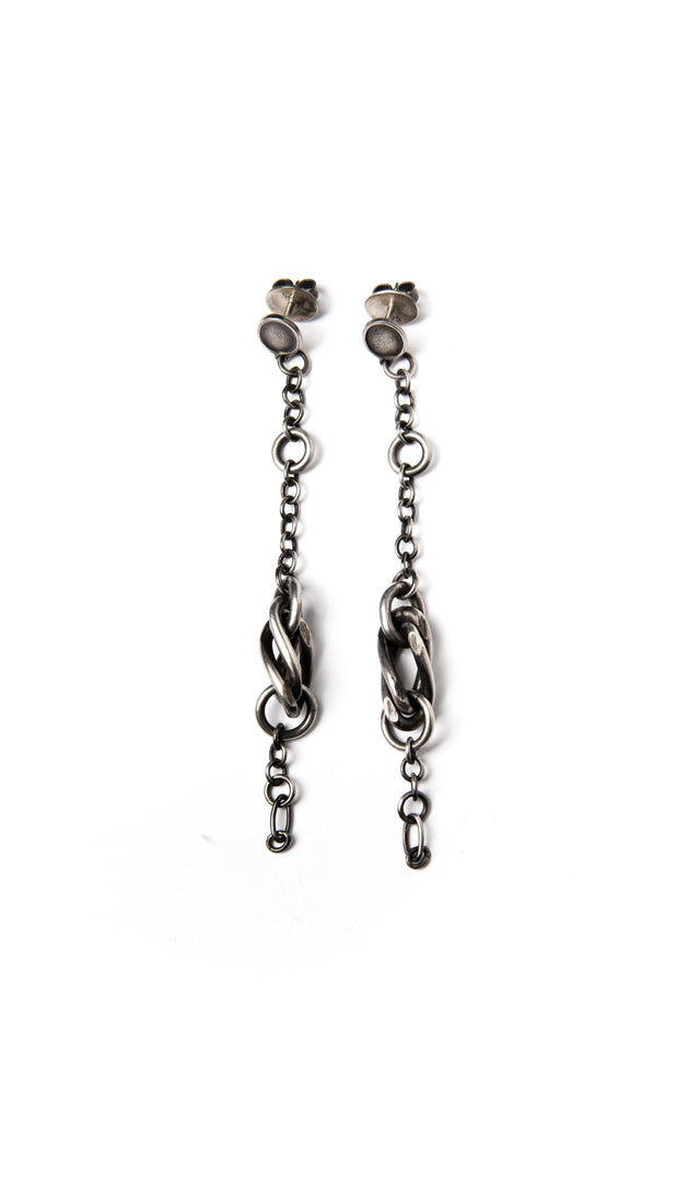 Werkstatt: Munchen Twisted Links Earrings
