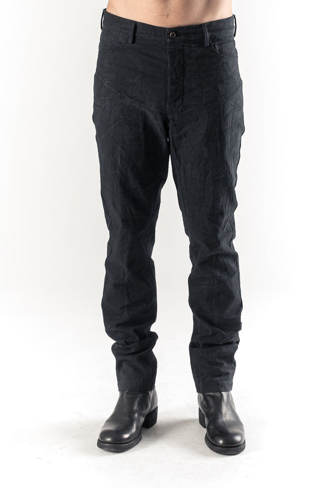 Off Black 5 Pocket Pant