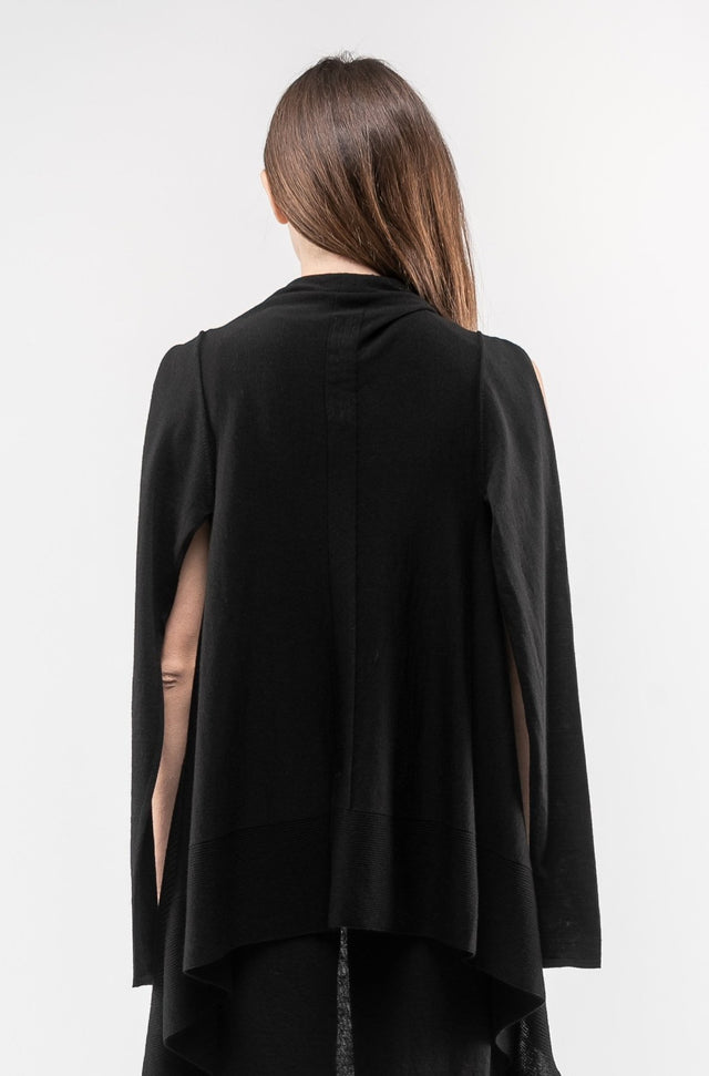 Cape Sleeve Cardigan