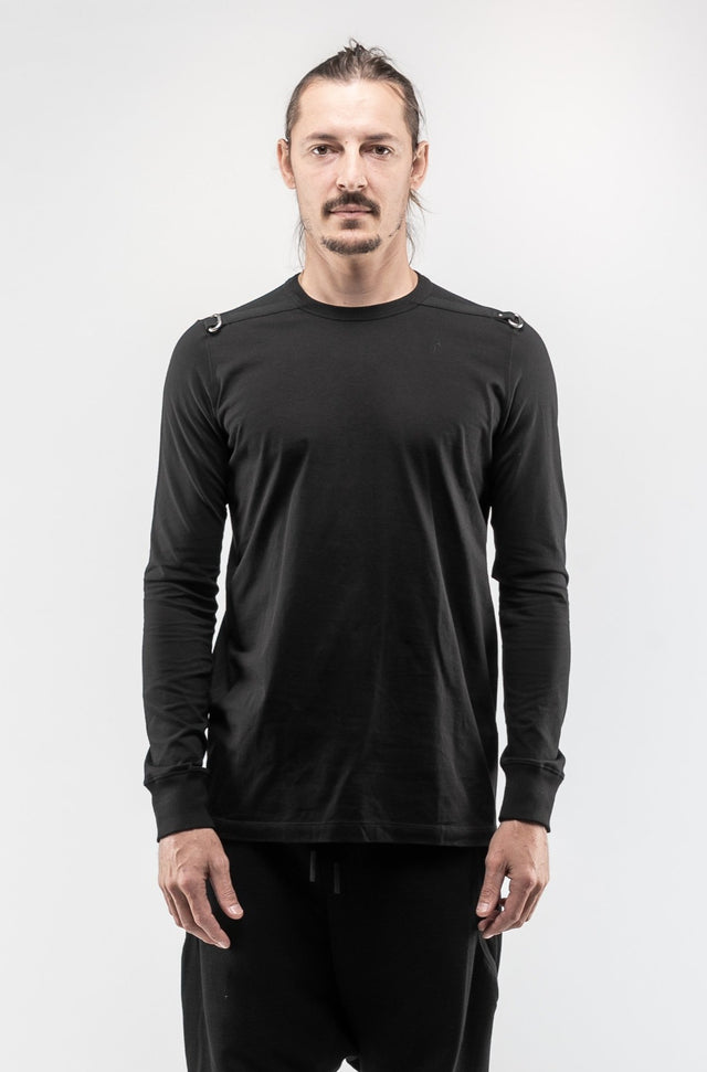LS Level T-shirt In Black